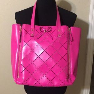 Gail Labelle Large Hot Pink Tote
